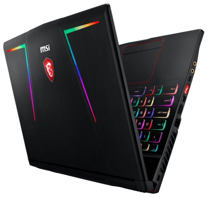 "MSI Ноутбук MSI GE63 8RE Raider RGB (Intel Core i7 8750H 2200 MHz/15.6""/1920x1080/16Gb/1128Gb HDD+SSD/DVD нет/NVIDIA GeForce GTX 1060/Wi-Fi/Bluetooth/DOS)"