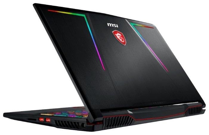 "MSI Ноутбук MSI GE63 8RF Raider RGB (Intel Core i7 8750H 2200 MHz/15.6""/3840x2160/32Gb/1512Gb HDD+SSD/DVD нет/NVIDIA GeForce GTX 1070/Wi-Fi/Bluetooth/Windows 10 Home)"