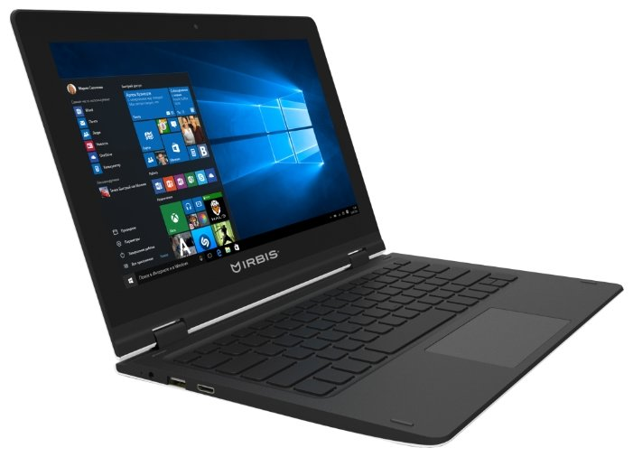 "Irbis Ноутбук Irbis NB32 (Intel Atom Z3735F 1333 MHz/11.6""/1920x1080/2GB/32GB eMMC/DVD нет/Intel GMA HD/Wi-Fi/Bluetooth/Windows 10 Home)"