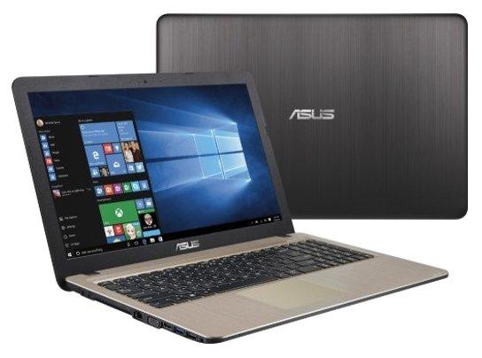 """ASUS Ноутбук ASUS VivoBook X540YA (AMD E1 6010 1350 MHz/15.6""""/1920x1080/4Gb/128Gb SSD/DVD нет/AMD Radeon R2/Wi-Fi/Bluetooth/DOS)"""