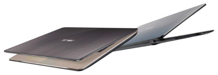 """ASUS Ноутбук ASUS VivoBook X540YA (AMD E1 6010 1350 MHz/15.6""""/1920x1080/4Gb/1000Gb HDD/DVD нет/AMD Radeon R2/Wi-Fi/Bluetooth/DOS)"""