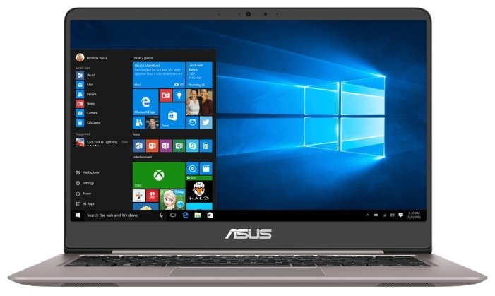 "ASUS Ноутбук ASUS ZenBook UX410UA (Intel Core i5 8250U 1600 MHz/14""/1920x1080/8Gb/512Gb SSD/DVD нет/Intel UHD Graphics 620/Wi-Fi/Bluetooth/Windows 10 Home)"