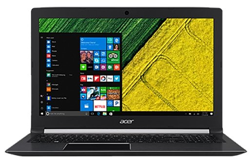 "Acer Ноутбук Acer ASPIRE 5 (A515-41G-T3D4) (AMD A10 9620P 2500 MHz/15.6""/1920x1080/8Gb/1128Gb HDD+SSD/DVD нет/AMD Radeon RX 540/Wi-Fi/Bluetooth/Windows 10 Home)"