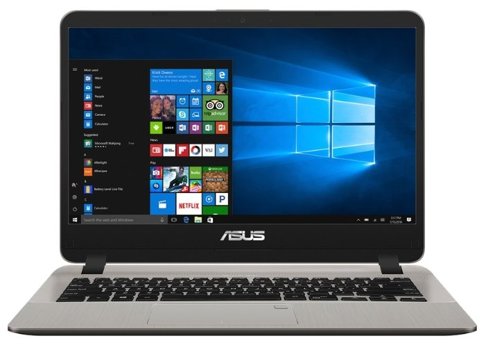 "ASUS Ноутбук ASUS X407UA (Intel Core i3 6006U 2000 MHz/14""/1920x1080/4Gb/1000Gb HDD/DVD нет/Intel HD Graphics 520/Wi-Fi/Bluetooth/Windows 10 Home)"