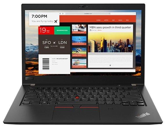 "Lenovo Ноутбук Lenovo ThinkPad T480s (Intel Core i5 8250U 1600 MHz/14""/1920x1080/8Gb/256Gb SSD/DVD нет/Intel UHD Graphics 620/Wi-Fi/Bluetooth/Windows 10 Pro)"