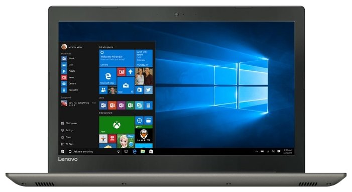 "Lenovo Ноутбук Lenovo IdeaPad 520 15 (Intel Core i3 7100U 2400 MHz/15.6""/1920x1080/4Gb/500Gb HDD/DVD нет/NVIDIA GeForce 940MX/Wi-Fi/Bluetooth/Windows 10 Home)"