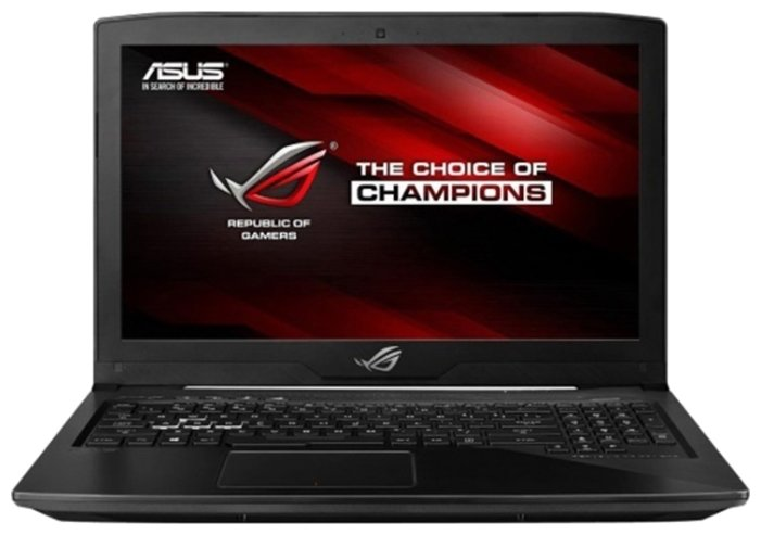 "ASUS Ноутбук ASUS ROG Strix GL503VD (Intel Core i5 7300HQ 2500 MHz/15.6""/1920x1080/8Gb/1128Gb HDD+SSD/DVD нет/NVIDIA GeForce GTX 1050/Wi-Fi/Bluetooth/Без ОС)"