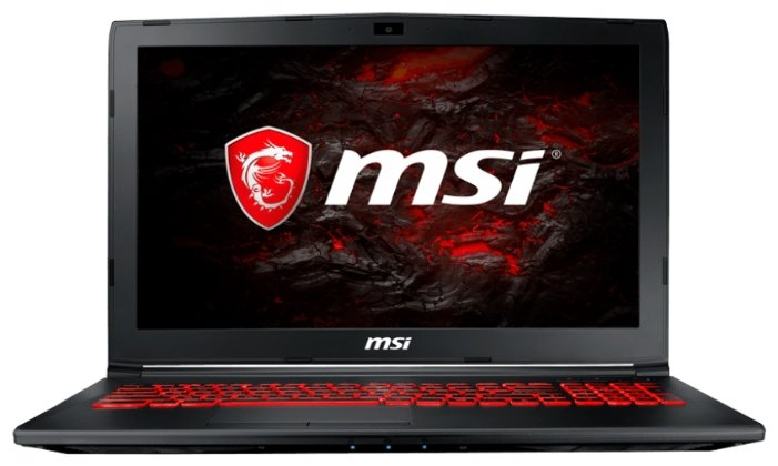 "MSI Ноутбук MSI GL62MVR 7RFX (Intel Core i7 7700HQ 2800 MHz/15.6""/1920x1080/16Gb/1000Gb HDD/DVD нет/NVIDIA GeForce GTX 1060/Wi-Fi/Bluetooth/Windows 10 Home)"