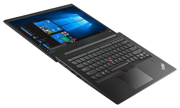 "Lenovo Ноутбук Lenovo ThinkPad Edge E480 (Intel Core i7 8550U 1800 MHz/14""/1920x1080/8Gb/1000Gb HDD/DVD нет/AMD Radeon RX 550/Wi-Fi/Bluetooth/Windows 10 Pro)"