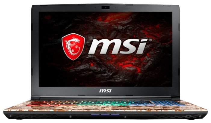 "MSI Ноутбук MSI GE62 7RE Camo Squad Limited Edition (Intel Core i5 7300HQ 2500 MHz/15.6""/1920x1080/16Gb/1000Gb HDD/DVD-RW/NVIDIA GeForce GTX 1050 Ti/Wi-Fi/Bluetooth/DOS)"