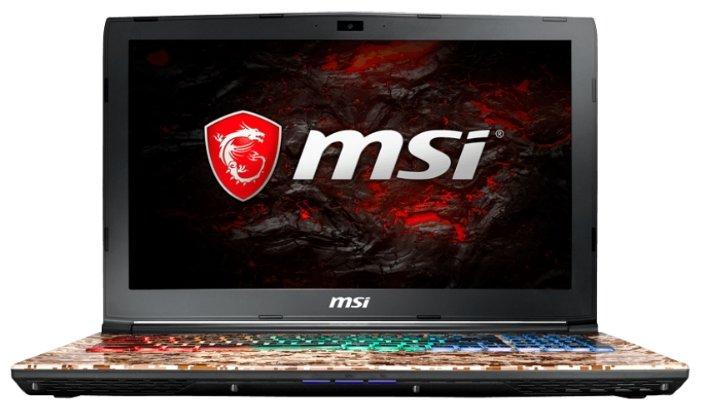 "MSI Ноутбук MSI GE62VR 7RF Camo Squad Limited Edition (Intel Core i7 7700HQ 2800 MHz/15.6""/1920x1080/16Gb/1128Gb HDD+SSD/DVD-RW/NVIDIA GeForce GTX 1060/Wi-Fi/Bluetooth/Windows 10 Home)"