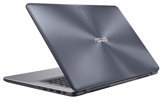 "ASUS Ноутбук ASUS VivoBook 17 A705UQ (Intel Core i7 8550U 1800 MHz/17.3""/1600x900/8Gb/1000Gb HDD/DVD-RW/NVIDIA GeForce 940MX/Wi-Fi/Bluetooth/Windows 10 Home)"