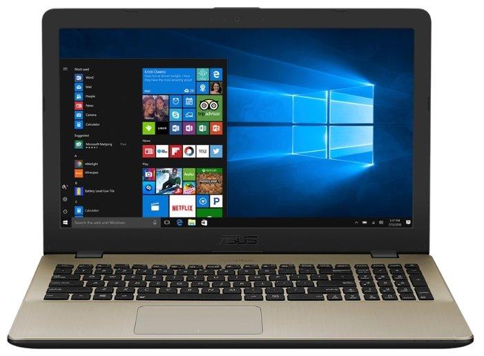 "ASUS Ноутбук ASUS VivoBook 15 X542UR (Intel Core i5 7200U 2500 MHz/15.6""/1366x768/4Gb/500Gb HDD/DVD нет/NVIDIA GeForce 930MX/Wi-Fi/Bluetooth/Windows 10 Pro)"