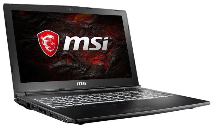 "MSI Ноутбук MSI GL62M 7RDX (Intel Core i5 7300HQ 2500 MHz/15.6""/1920x1080/8Gb/1000Gb HDD/DVD нет/NVIDIA GeForce GTX 1050/Wi-Fi/Bluetooth/Windows 10 Home)"