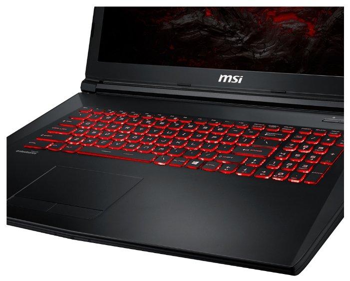 """MSI Ноутбук MSI GL72M 7REX (Intel Core i7 7700HQ 2800 MHz/17.3""""/1920x1080/16Gb/1000Gb HDD/DVD нет/NVIDIA GeForce GTX 1050 Ti/Wi-Fi/Bluetooth/Windows 10 Home)"""