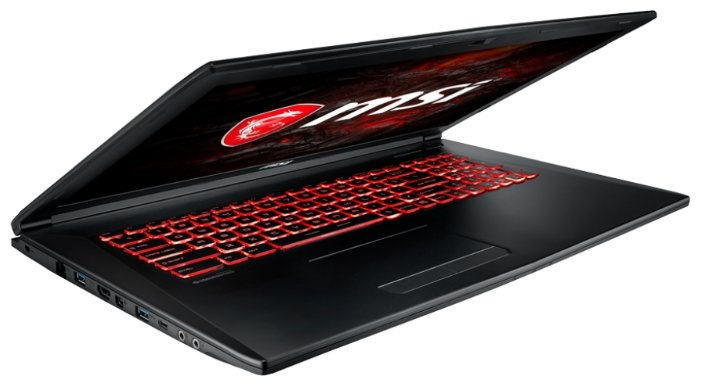 "MSI Ноутбук MSI GL72M 7RDX (Intel Core i5 7300HQ 2500 MHz/17.3""/1920x1080/8Gb/1000Gb HDD/DVD нет/NVIDIA GeForce GTX 1050/Wi-Fi/Bluetooth/DOS)"