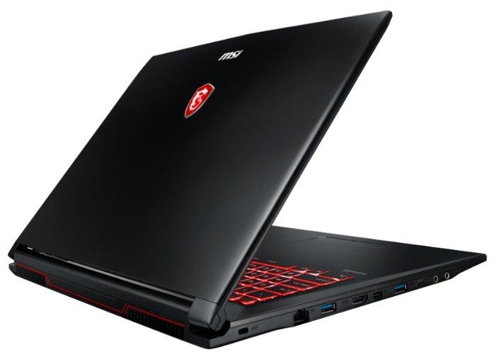 "MSI Ноутбук MSI GL72M 7RDX (Intel Core i7 7700HQ 2800 MHz/17.3""/1920x1080/8Gb/1000Gb HDD/DVD нет/NVIDIA GeForce GTX 1050/Wi-Fi/Bluetooth/DOS)"