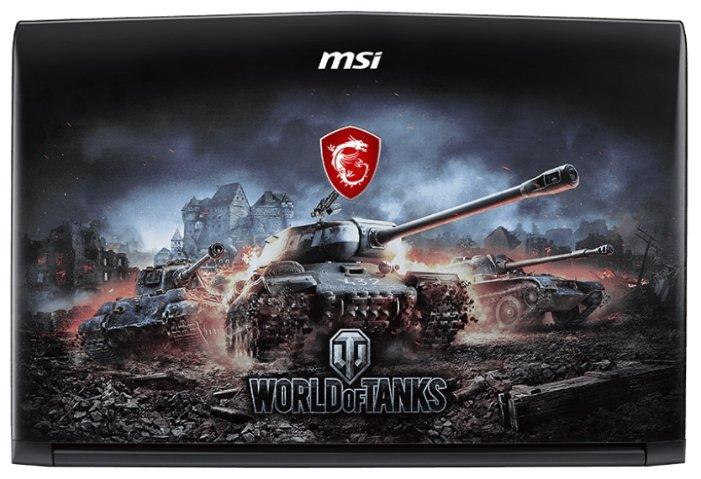"MSI Ноутбук MSI GP62M 7RDX World of Tanks Edition (Intel Core i7 7700HQ 2800 MHz/15.6""/1920x1080/8Gb/1000Gb HDD/DVD нет/NVIDIA GeForce GTX 1050/Wi-Fi/Bluetooth/DOS)"