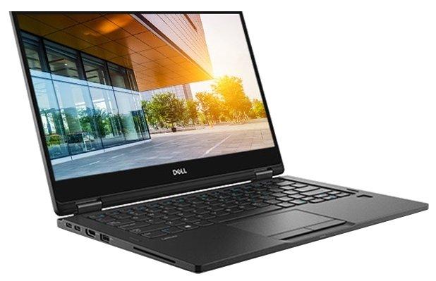 """DELL Ноутбук DELL LATITUDE 7390 2-in-1 (Intel Core i7 8650U 1900 MHz/13.3""""/1920x1080/16GB/512GB SSD/DVD нет/Intel UHD Graphics 620/Wi-Fi/Bluetooth/Windows 10 Pro)"""