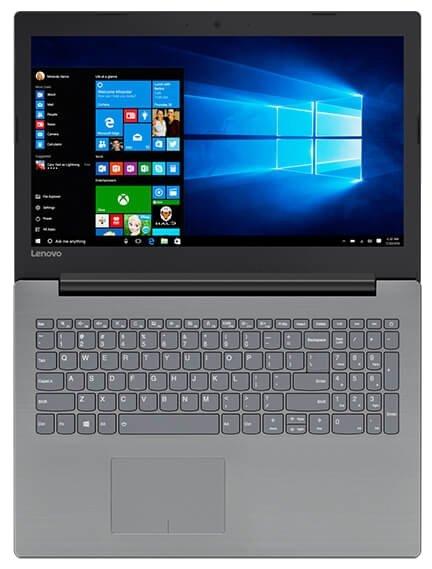 """Lenovo Ноутбук Lenovo IdeaPad 320 15 Intel (Intel Core i3 7100U 2400 MHz/15.6""""/1366x768/4Gb/500Gb HDD/DVD нет/AMD Radeon 530/Wi-Fi/Bluetooth/Windows 10 Home)"""