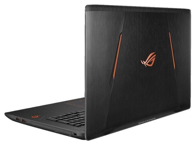 "ASUS Ноутбук ASUS ROG GL753VE (Intel Core i7 7700HQ 2800 MHz/17.3""/1920x1080/8Gb/2128Gb HDD+SSD/DVD нет/NVIDIA GeForce GTX 1050 Ti/Wi-Fi/Bluetooth/Windows 10 Home)"