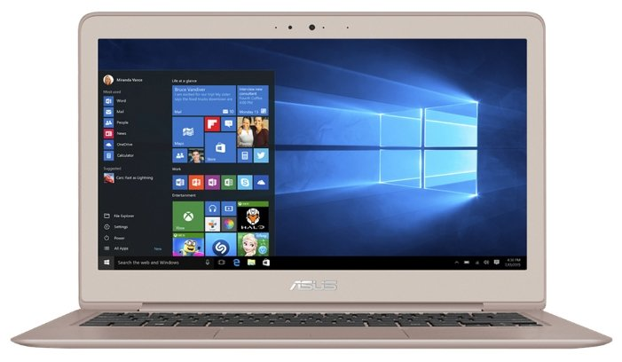 "ASUS Ноутбук ASUS ZenBook UX330UA (Intel Core i7 8550U 1800 MHz/13.3""/3200x1800/8Gb/512Gb SSD/DVD нет/Intel UHD Graphics 620/Wi-Fi/Bluetooth/Windows 10 Pro)"