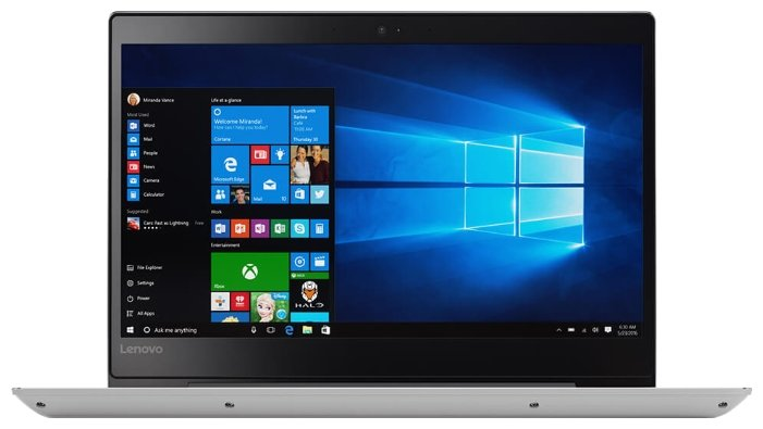 "Lenovo Ноутбук Lenovo IdeaPad 520s 14 (Intel Core i5 8250U 1600 MHz/14""/1920x1080/8Gb/1000Gb HDD/DVD нет/Intel UHD Graphics 620/Wi-Fi/Bluetooth/Windows 10 Home)"