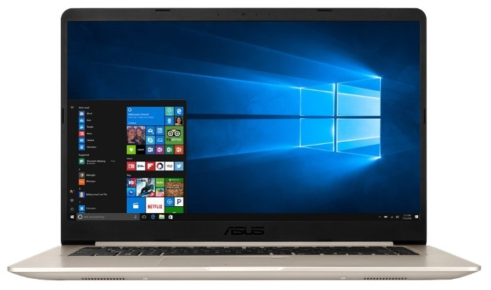 "ASUS Ноутбук ASUS VivoBook S15 S510UN (Intel Core i3 7100U 2400 MHz/15.6""/1920x1080/8Gb/1000Gb HDD/DVD нет/NVIDIA GeForce MX150/Wi-Fi/Bluetooth/Endless OS)"