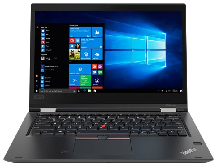 "Lenovo Ноутбук Lenovo ThinkPad X380 Yoga (Intel Core i5 8250U 1600 MHz/13.3""/1920x1080/8Gb/256Gb SSD/DVD нет/Intel UHD Graphics 620/Wi-Fi/Bluetooth/LTE/Windows 10 Pro)"