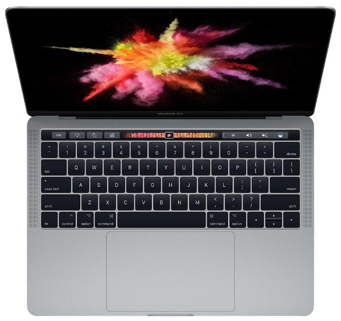 "Apple Ноутбук Apple MacBook Pro 13 with Retina display and Touch Bar Mid 2017 (Intel Core i5 3100 MHz/13.3""/2560x1600/8Gb/256Gb SSD/DVD нет/Intel Iris Plus Graphics 650/Wi-Fi/Bluetooth/MacOS X)"