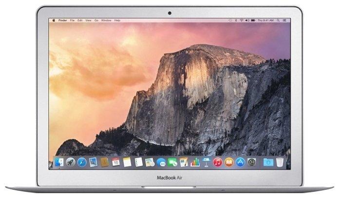 "Apple Ноутбук Apple MacBook Air 13 Mid 2017 MQD42 (Intel Core i5 1800 MHz/13.3""/1440x900/8Gb/256Gb SSD/DVD нет/Intel HD Graphics 6000/Wi-Fi/Bluetooth/MacOS X)"