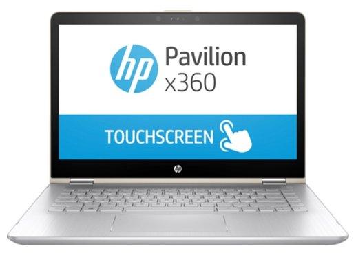 "HP Ноутбук HP PAVILION 14-ba104ur x360 (Intel Core i5 8250U 1600 MHz/14""/1920x1080/6Gb/1128Gb HDD+SSD/DVD нет/NVIDIA GeForce 940MX/Wi-Fi/Bluetooth/Windows 10 Home)"