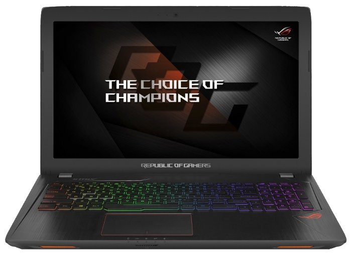"ASUS Ноутбук ASUS ROG GL553VE (Intel Core i7 7700HQ 2800 MHz/15.6""/1920x1080/8Gb/1128Gb HDD+SSD/DVD-RW/NVIDIA GeForce GTX 1050 Ti/Wi-Fi/Bluetooth/Endless OS)"