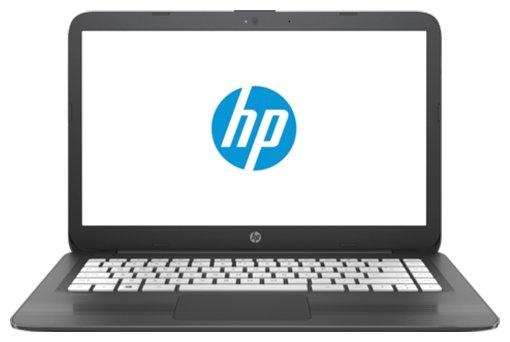 "HP Ноутбук HP Stream 14-ax018ur (Intel Celeron N3060 1600 MHz/14""/1366x768/4Gb/32Gb eMMC/DVD нет/Intel HD Graphics 400/Wi-Fi/Bluetooth/Windows 10 Home)"