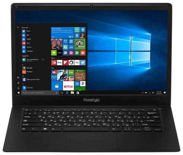 "Prestigio Ноутбук Prestigio SmartBook 141C (Intel Atom x5 Z8350 1440 MHz/14.1""/1920x1080/2GB/32GB eMMC/DVD нет/Intel HD Graphics 400/Wi-Fi/Bluetooth/Windows 10 Home)"
