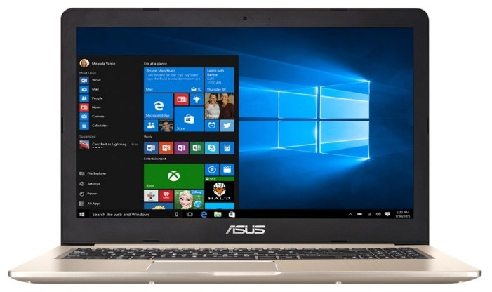"ASUS Ноутбук ASUS VivoBook Pro 15 N580VD (Intel Core i5 7300HQ 2500 MHz/15.6""/1920x1080/8Gb/1000Gb HDD/DVD нет/NVIDIA GeForce GTX 1050/Wi-Fi/Bluetooth/Windows 10 Home)"