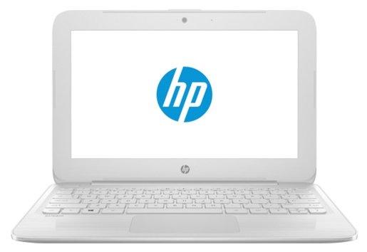 """HP Ноутбук HP Stream 11-y013ur (Intel Celeron N3060 1600 MHz/11.6""""/1366x768/4Gb/32Gb eMMC/DVD нет/Intel HD Graphics 400/Wi-Fi/Bluetooth/Windows 10 Home)"""