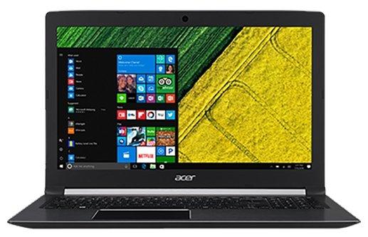 """Acer Ноутбук Acer ASPIRE 5 (A515-51G-594W) (Intel Core i5 7200U 2500 MHz/15.6""""/1920x1080/6Gb/1000Gb HDD/DVD нет/NVIDIA GeForce 940MX/Wi-Fi/Bluetooth/Windows 10 Home)"""