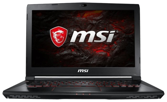 "MSI Ноутбук MSI GS43VR 7RE Phantom Pro (Intel Core i7 7700HQ 2800 MHz/14""/1920x1080/16Gb/1256Gb HDD+SSD/DVD нет/NVIDIA GeForce GTX 1060/Wi-Fi/Bluetooth/Win 10 Home)"