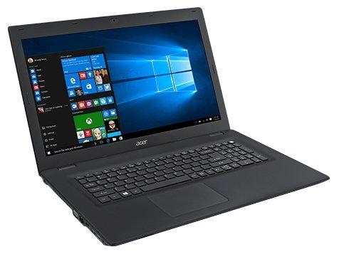"Acer Ноутбук Acer TravelMate P2 TMP278-M-P57H (Intel Pentium 4405U 2100 MHz/17.3""/1600x900/4Gb/500Gb HDD/DVD нет/Intel HD Graphics 520/Wi-Fi/Bluetooth/Windows 10 Home)"