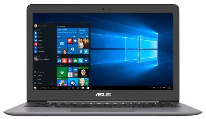 "ASUS Ноутбук ASUS Zenbook UX310UQ (Intel Core i3 7100U 2400 MHz/13.3""/1920x1080/6Gb/256Gb SSD/DVD нет/NVIDIA GeForce 940MX/Wi-Fi/Bluetooth/Windows 10 Home)"