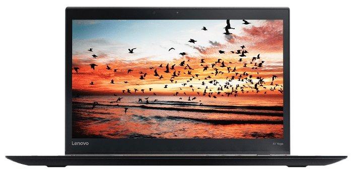 "Lenovo Ноутбук Lenovo THINKPAD X1 YOGA (2nd Gen) (Intel Core i5 7200U 2500 MHz/14""/2560x1440/8Gb/256Gb SSD/DVD нет/Intel HD Graphics 620/Wi-Fi/Bluetooth/3G/LTE/Windows 10 Pro)"