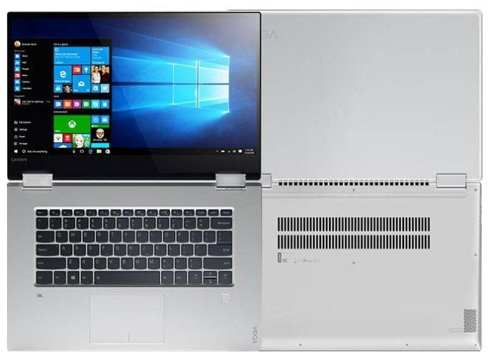"Lenovo Ноутбук Lenovo Yoga 720 15 (Intel Core i5 7300HQ 2500 MHz/15.6""/1920x1080/8Gb/256Gb SSD/DVD нет/NVIDIA GeForce GTX 1050/Wi-Fi/Bluetooth/Windows 10 Home)"