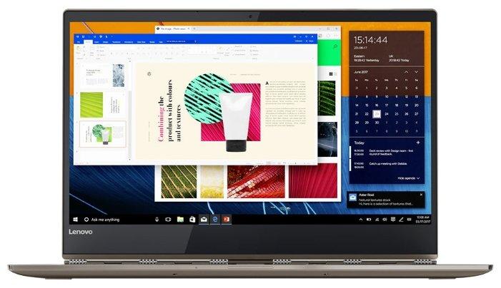 "Lenovo Ноутбук Lenovo Yoga 920 13 (Intel Core i7 8550U 1800 MHz/13.9""/3840x2160/16Gb/512Gb SSD/DVD нет/Intel HD Graphics 620/Wi-Fi/Bluetooth/Windows 10 Home)"