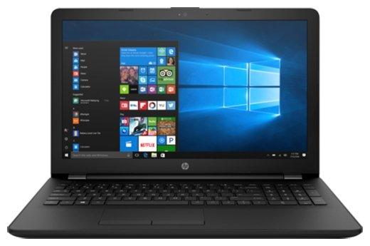 """HP Ноутбук HP 15-bs028ur (Intel Core i3 6006U 2000 MHz/15.6""""/1366x768/4Gb/500Gb HDD/DVD-RW/Intel HD Graphics 520/Wi-Fi/Bluetooth/Windows 10 Home)"""