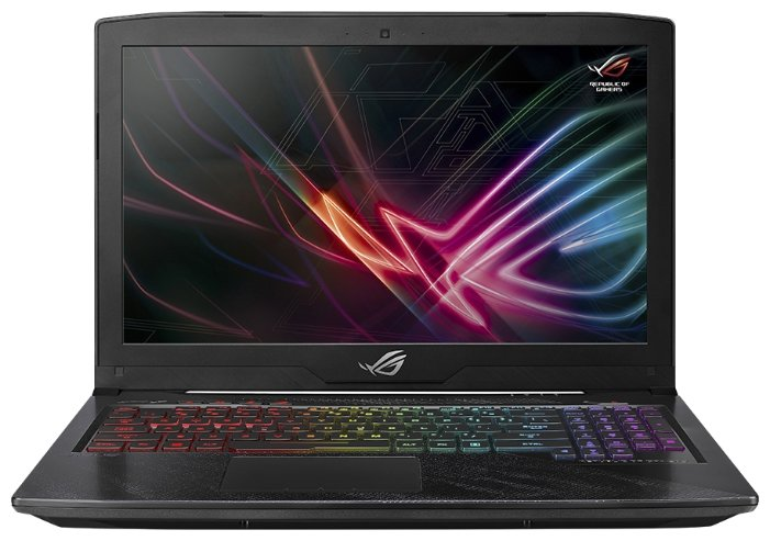 "ASUS Ноутбук ASUS ROG Hero Edition GL503VD (Intel Core i5 7300HQ 2500 MHz/15.6""/1920x1080/8Gb/1256Gb HDD+SSD/DVD нет/NVIDIA GeForce GTX 1050/Wi-Fi/Bluetooth/Windows 10 Home)"