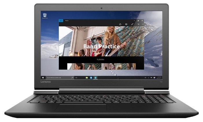 "Lenovo Ноутбук Lenovo IdeaPad 700 15 (Intel Core i7 6700HQ 2600 MHz/15.6""/1920x1080/8Gb/1000Gb HDD/DVD нет/NVIDIA GeForce GTX 950M/Wi-Fi/Bluetooth/Windows 10 Home)"