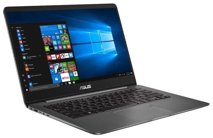 "ASUS Ноутбук ASUS ZenBook UX430UN (Intel Core i5 8250U 1600 MHz/14""/1920x1080/8Gb/512Gb SSD/DVD нет/NVIDIA GeForce MX150/Wi-Fi/Bluetooth/Windows 10 Home)"