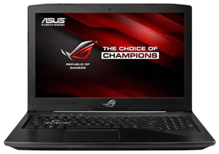 "ASUS Ноутбук ASUS ROG SCAR Edition GL503VD (Intel Core i5 7300HQ 2500 MHz/15.6""/1920x1080/8Gb/1128Gb HDD+SSD/DVD нет/NVIDIA GeForce GTX 1050/Wi-Fi/Bluetooth/Без ОС)"