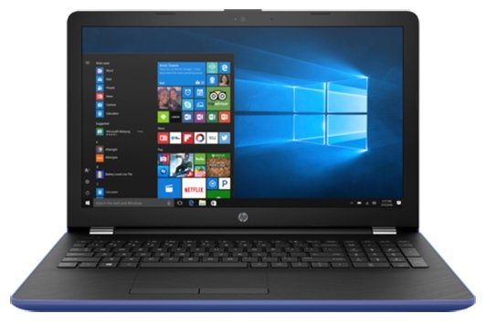 "HP Ноутбук HP 15-bs058ur (Intel Core i3 6006U 2000 MHz/15.6""/1366x768/4Gb/500Gb HDD/DVD нет/Intel HD Graphics 520/Wi-Fi/Bluetooth/Windows 10 Home)"